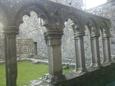 Fore Abbey - Fore, Ireland