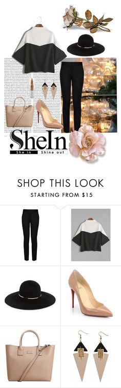 """""""SheIn contest 5#"""" by dreamharder ❤ liked on Polyvore featuring Oris, STELLA McCARTNEY, Eugenia Kim, Christian Louboutin, MANGO, Toolally and Mariah Carey"""