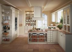country style kitchen ideas | Country kitchen English style color white