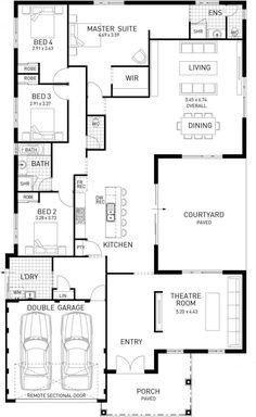 Unique Open Floor Plans Open Plan Living The Sinatra