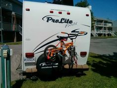 Support de vélos arrière Support, Recreational Vehicles, Rv, Veil, Gypsy Wagon, Profile, Hobbies, Motorhome, Campers