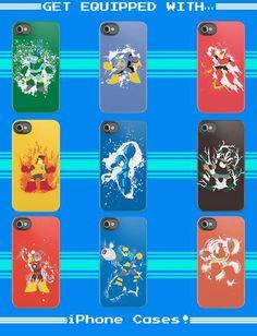 The Megaman II iPhone Case Features a Slew of Capcom Characters #x-men #superheroes trendhunter.com