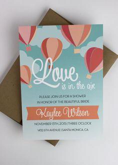 Bridal Shower Invitation by Paperelli on Etsy