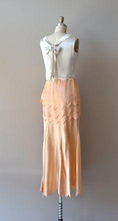 Perchance to Dream dress silk 1930s dress vintage by DearGolden
