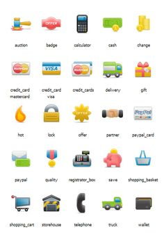 Exclusive Free eCommerce Icons