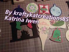 Handmade Christmas embellishments