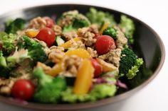 Sachies Kitchen | Recipes - seasonal salad with sesame dressing