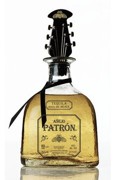 Award-winning fashion designer John Varvatos teamed up with design agency Mode Design Group (MDG) to create a custom, limited edition bottle for tequila brand Patrón this holiday season. Tequila Bottles, Alcohol Bottles, Liquor Bottles, Perfume Bottles, Patron Tequila, Whisky, Vodka, Tequila Day, Mead