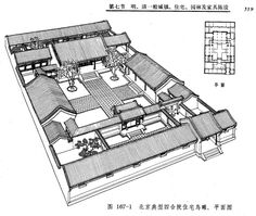 perlin P.38 SiheyuanperspectiveZGGDJZS1984