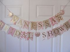bridal banner bridal shower banner wedding shower banner blush and gold bridal shower pink and gold bridal shower decorations