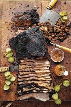 TRADITION, TWEAKED | The beef brisket at Smoke in Dallas may look like classic Texas...