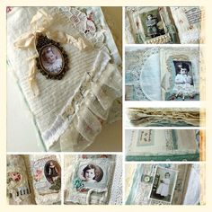 Fabric book by yitte, via Flickr