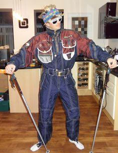 Retro Ski Man Decente