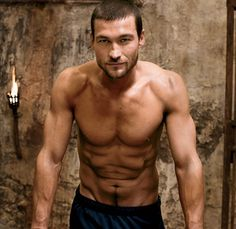 Andy Whitfield <3 Rip gorgeous man!