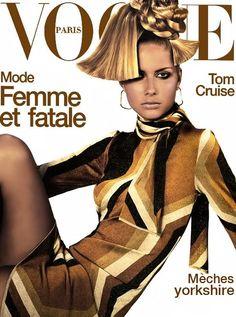 covers of vogue 2000s | Vogue Paris August 2000 Cover (Vogue Paris)