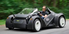 Inch my inch, layer by layer, the first 3D printed car is constructed and able to drive. It is named Strati after the Italian word for layer.