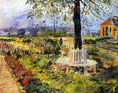 Max Slevogt Garden in Neu-Cladow, 1912