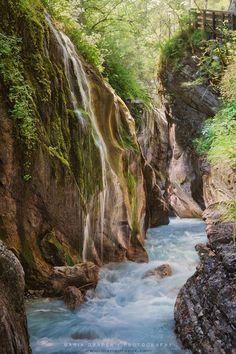 Wimbachklamm Gorge, Ramsau