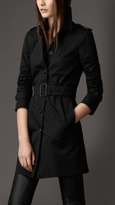Black Trench Coat  Article 38068221