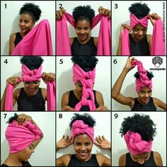 Braided Scarf Headband - Head Wraps & Geles I Like Wraps scarf Wraps white girl Head Wraps Hair Scarf Styles, Curly Hair Styles, Hijab Styles, Hair Day, My Hair, Natural Hair Care, Natural Hair Styles, Headwraps For Natural Hair, Braided Scarf