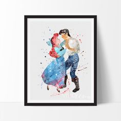 Ariel & Prince Eric, The Little Mermaid, Disney