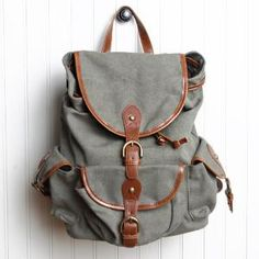 traveling soldier canvas backpack $64.99 : ShopRuche.com, Vintage Inspired Clothing, Affordable Clothes, Eco friendly Fashion