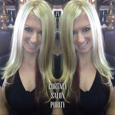 Blonde  Heavy  Weave  Long layers