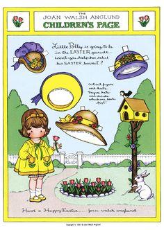 Terri Pettit: Joan Walsh Anglund's Easter paper dolls