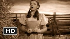 Somewhere Over the Rainbow - The Wizard of Oz Movie CLIP, with Judy Garland, when she was 15 years old. 2013 will the place over the rainbow, and this song makes us dream with hope. Wizard Of Oz Movie, Wizard Of Oz 1939, Wizard Of Oz Songs, Soundtrack, Alphaville Forever Young, Peliculas Western, Victor Fleming, Pop Rock, We Movie