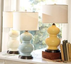 Alexis Ceramic Table Lamp Base | Pottery Barn, guest room 2/office