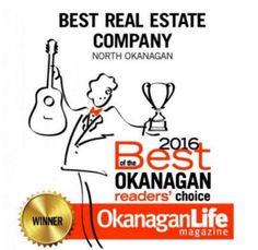 RE/MAX is named Best Real Estate Company in the North Okanagan by the readers of Okanagan Life Magazine! Thank You! #RealEstate #Remax #VernonBC #NorthOkanaganRealtors