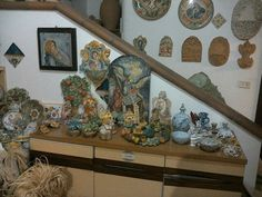 Arte,ceramica,scultura,italia sicilia