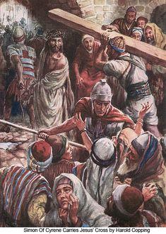 Jesus Christ Carrying the Cross Religious Images, Religious Art, The Cross Of Christ, Jesus Cross, Crucifixion Of Jesus, Religion Catolica, Cross Art, Biblical Art, Jesus Pictures