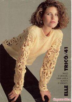 *Красивые пуловеры - Все в ажуре... (вязание крючком) - Страна Мам
