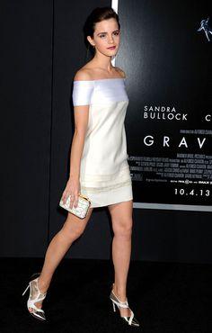 Emma Watson in J. Mendel dress