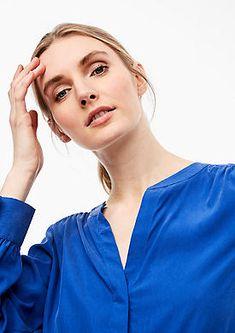 Bluse mit Tunika-Ausschnitt von s.Oliver. Entdecke online neue Trends und authentische Styles für die ganze Familie! Models, Neue Trends, Tunic, Neckline, Templates, Fashion Models