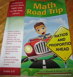 One Homeschool Journey: Math Road Trip: An Interactive Discovery-Based Math Unit for High-Ability Learners