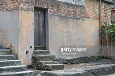 Image result for shabby door with steps