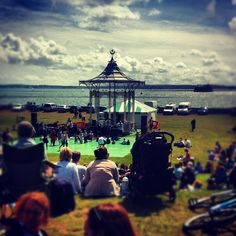 The Bandstand at Southsea. A popular place to head to on a Sunday with a picnic, depending on the weather of course!