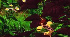 arrietty Secret World Of Arrietty, Plant Leaves, Plants, Painting, Art, Art Background, Painting Art, Kunst, Paintings