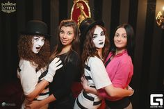 Mime Makeup, Clowns, Female, Party, Fashion, Moda, Fashion Styles, Imperial Crown, Parties