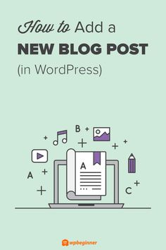 WordPress features often go unnoticed on the add new post page. This should be your reference guide for creating a new post and utilizing all the features. Create Wordpress Website, Learn Wordpress, Blogging For Beginners, Blogging Ideas, Blog Tips, How To Start A Blog, Ads, Unusual Things, Investing