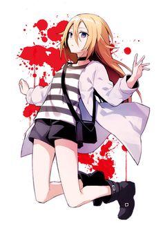 "Rachel ""ray"" gardner – satsuriku no tenshi, satsuten, angel of death, angel of slaughter Dark Anime, Me Anime, Anime Angel, Anime Love, Manga Anime, Anime Girls, Angel Of Death, Fan Art Anime, Mad Father"