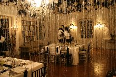 Ober, Onet Associates: Truman Capote Black and White Themed Party Great Gatsby Party, Nye Party, Party Time, Mascarade Party Decorations, Masquerade Ball Party, Golden Birthday Themes, New York Theme Party, 50th Wedding Anniversary Decorations, Small Birthday Parties
