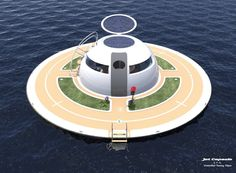 This UFO-style home is powered by the sun so you can live in the sea | THE UT.LAB | Machines and Gadgets *