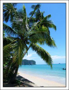 Krabi Beach, Ao Nang, Thailand Copyright: Maria Petersen