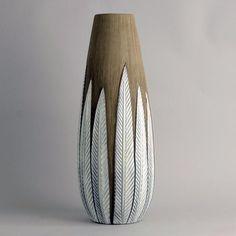 Very large stoneware vase by Anna-Lisa Thomson B3984
