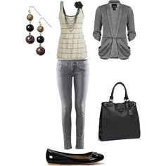 Affordable simple style, done on Polyvore by Shasta!