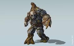 Tree Troll in Mudbox