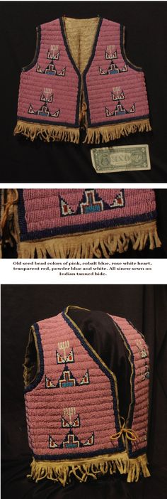 Sioux Childs Beaded Vest ca.1890
